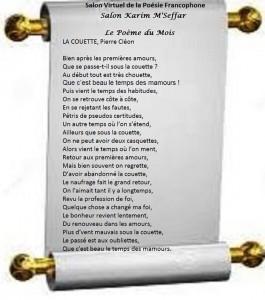 Salon virtuel poésie francophone